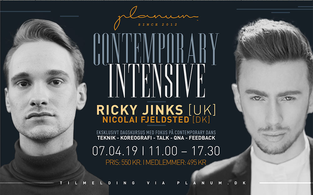 Contemporary Intensive x Ricky Jinks (UK)