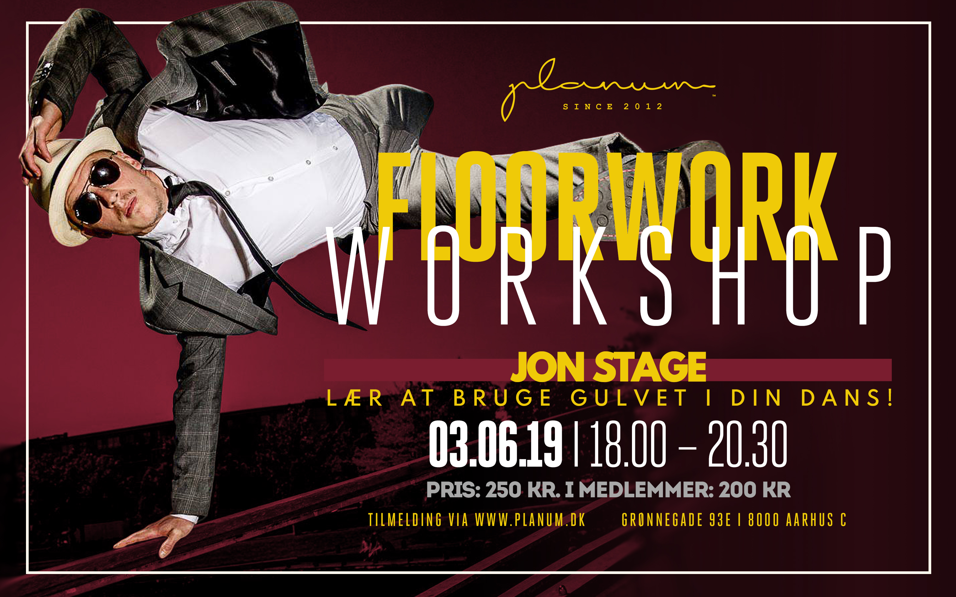 Workshop x Jon Stage