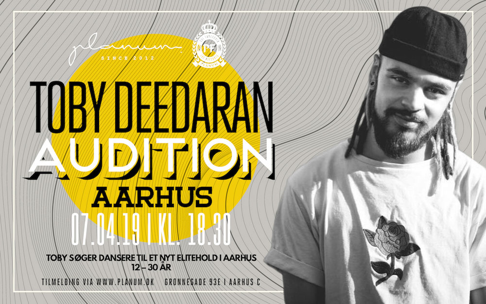 AUDITION X TOBY DEEDARAN