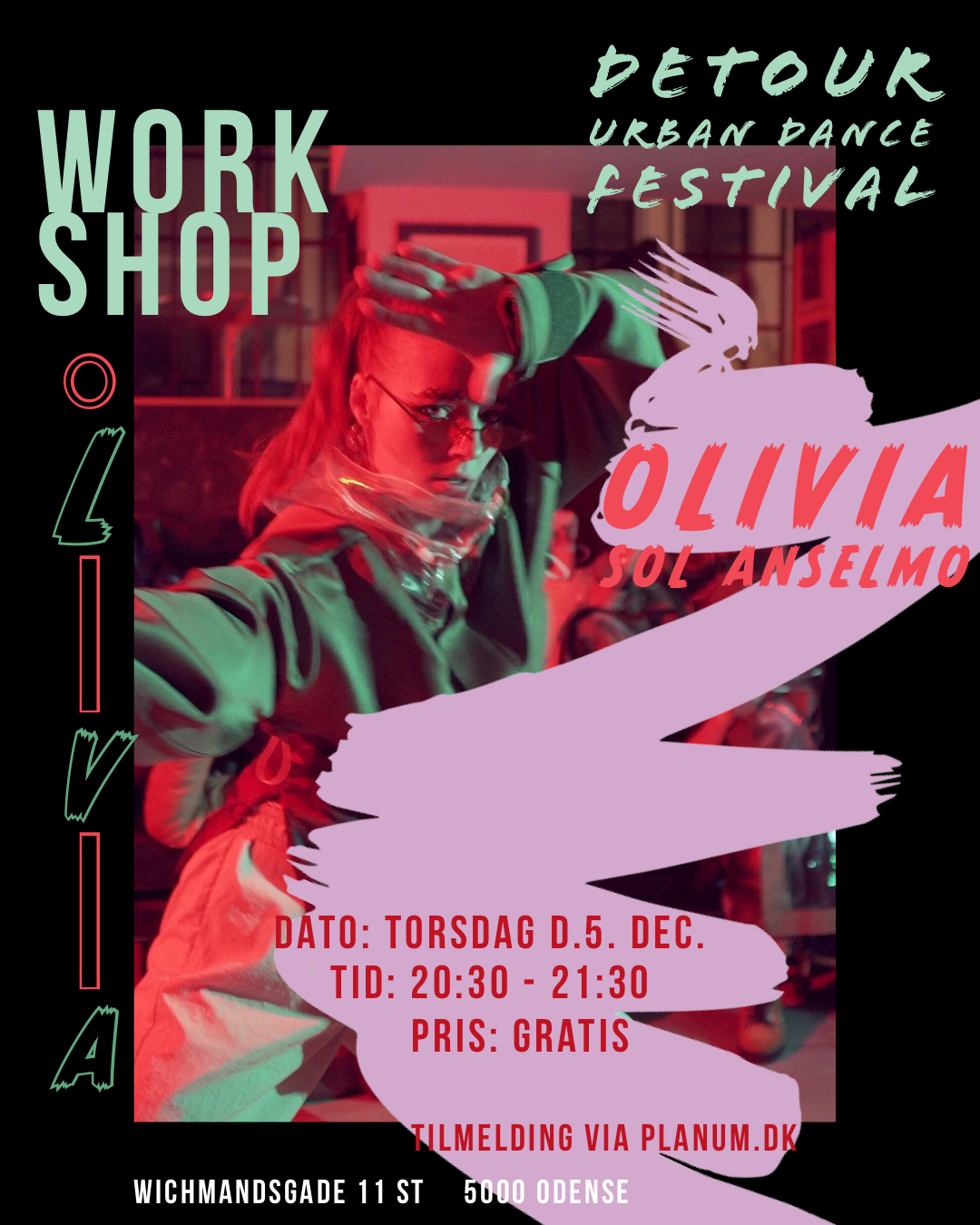 Gratis workshop x Olivia Sol Anselmo