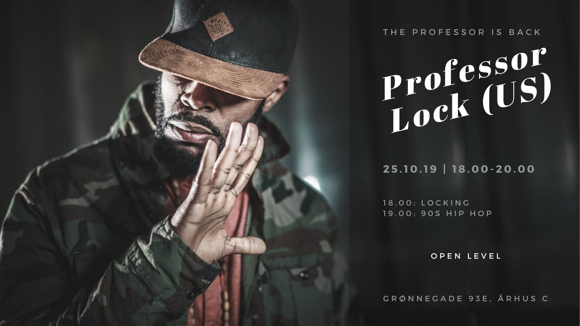 Workshop x Professor Lock (US)