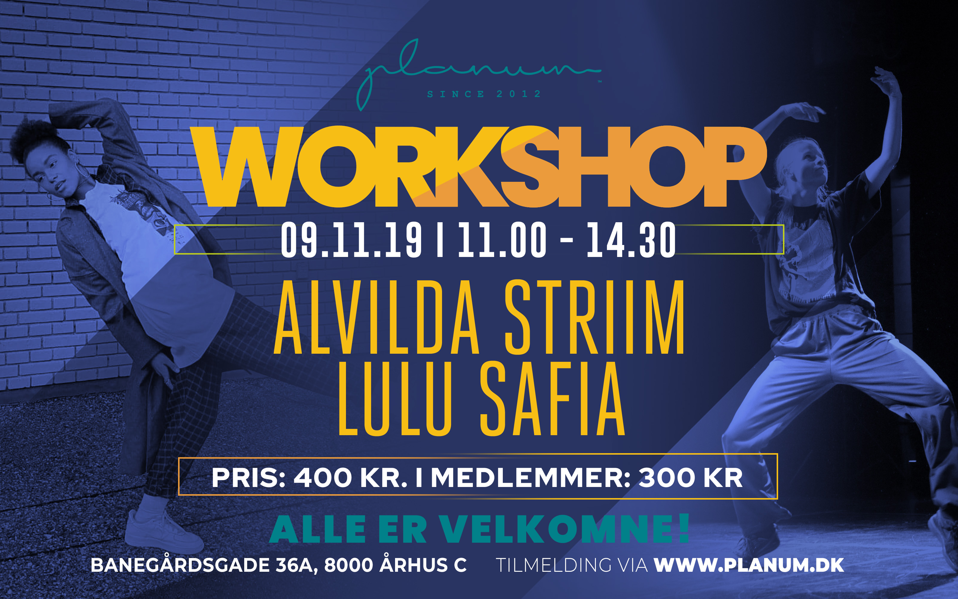 Workshop Lulu Safia x Alvilda Striim