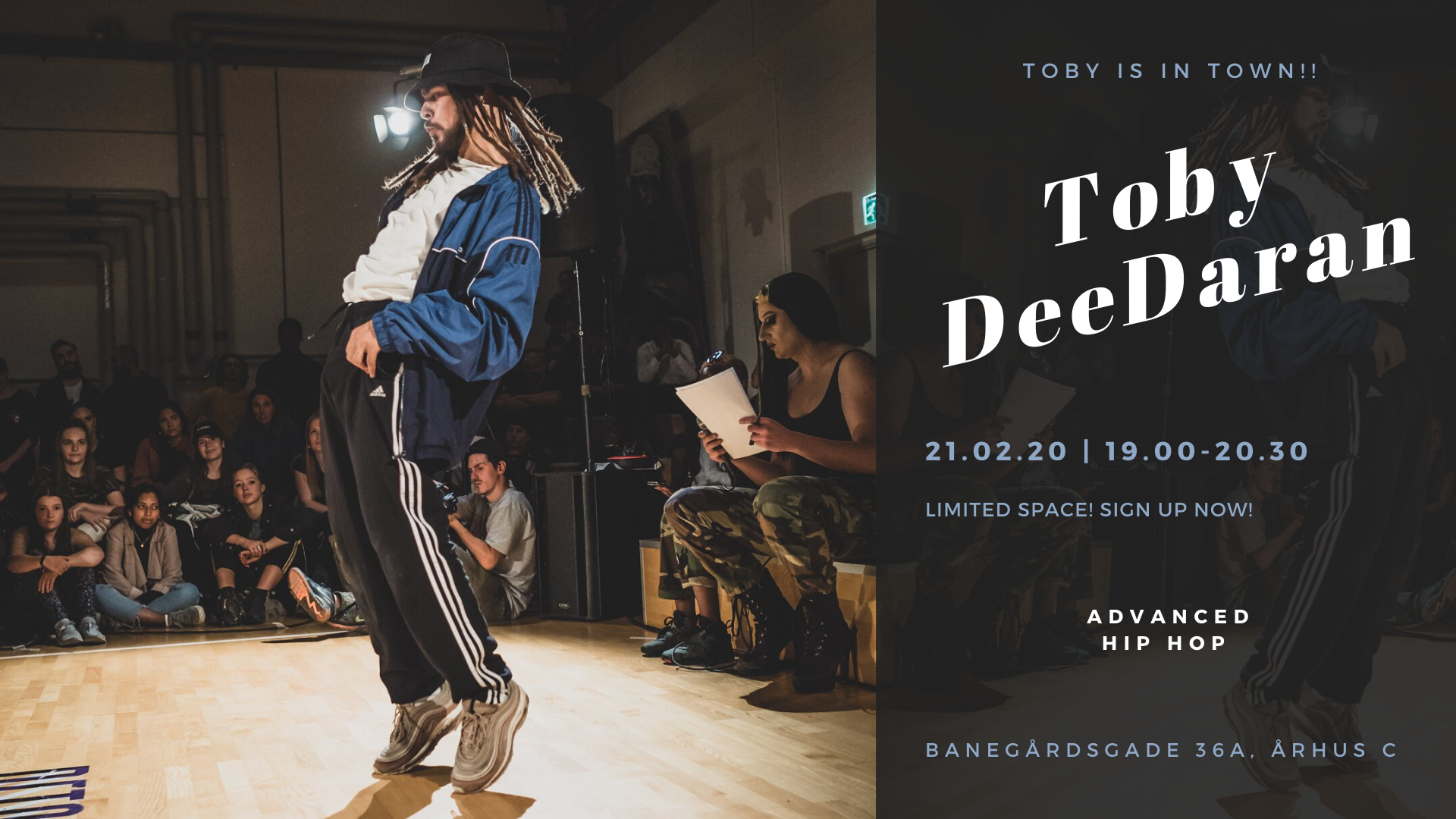 Workshop x Toby Deedaran
